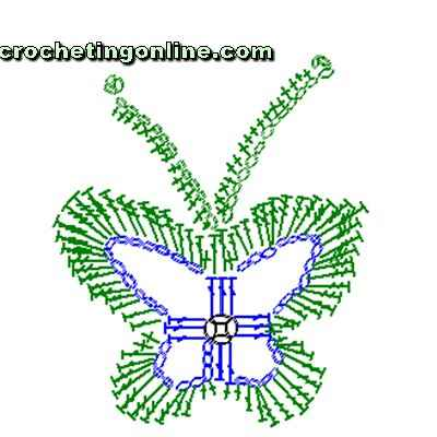 how to crochet instructions Butterfly