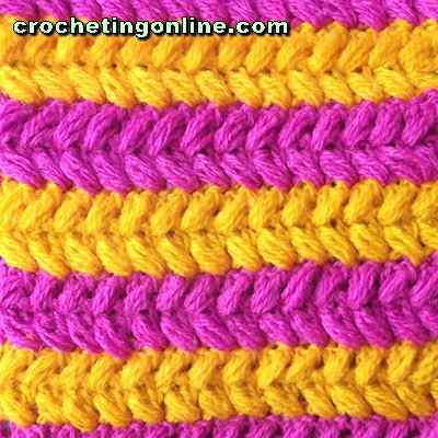 Braids crochet stitches