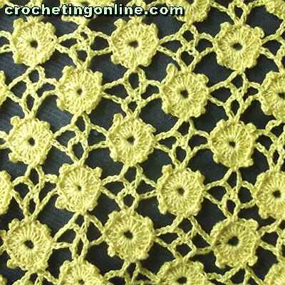 Freckles crochet stitches