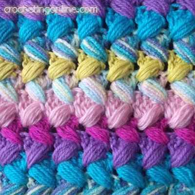 Beans crochet stitches