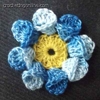 Marigold crochet stitches