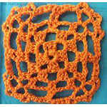 crochet lace Flower Granny Square
