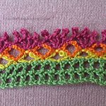 crocheting patterns Chrysanthemum Edging