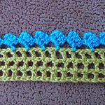 easy crochet patterns Scallops Edging