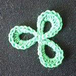 free easy crochet patterns Trefoil