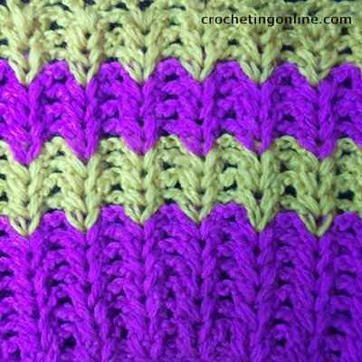 Ears crochet stitches