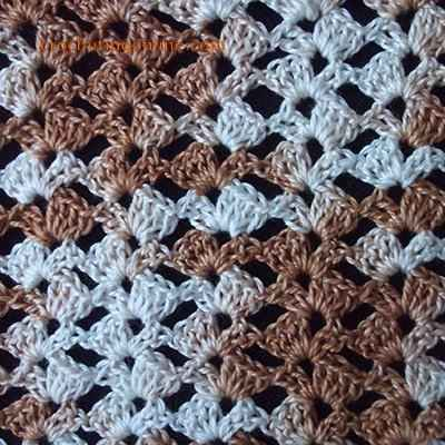 Bindweed crochet stitches