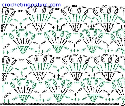 how to crochet instructions Crown Lattice