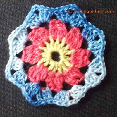 Daisy crochet stitches