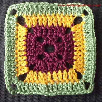 Box crochet stitches