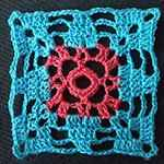 free online crochet patterns Wind rose