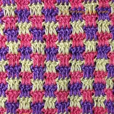 Mosaic crochet stitches