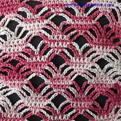 Spiders crochet stitches