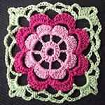 crochet flower pattern Gerbera
