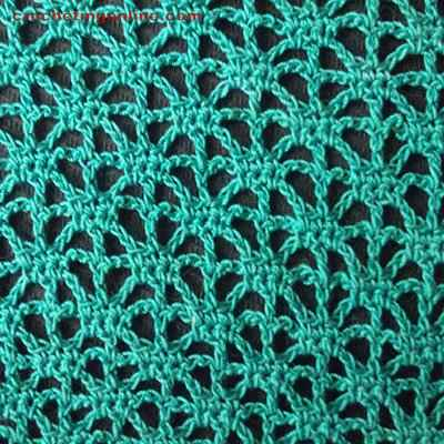 Stars crochet stitches