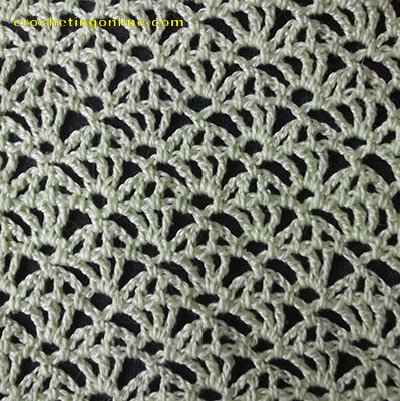 Webs crochet stitches