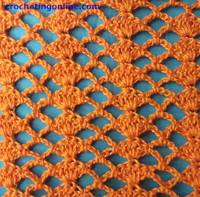 Crochet Stitches Lace : Crochet Stitch Patterns -- Lace Stitch Patterns -- Tick Lace