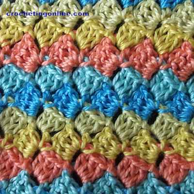 Puzzles crochet stitches