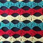 easy crochet patterns free Wave