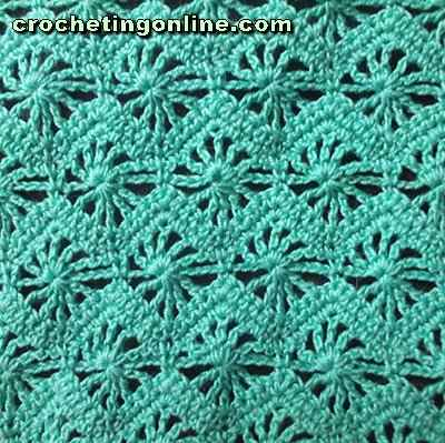 Crochet Stitch Patterns -- Lace Stitch Patterns -- Sunny