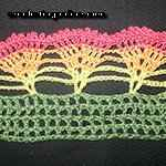 peacock stitch crochet patterns Beautiful Fan