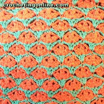 Flambeau crochet stitches