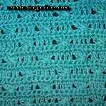 crochet mosaic stitch Cross