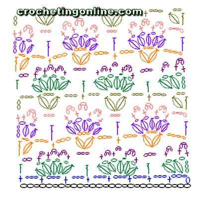 how to crochet instructions Celosia