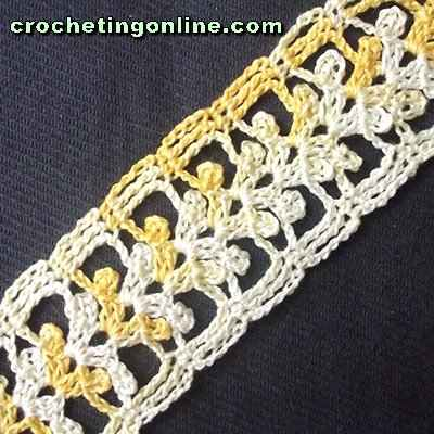 Ivy crochet stitches