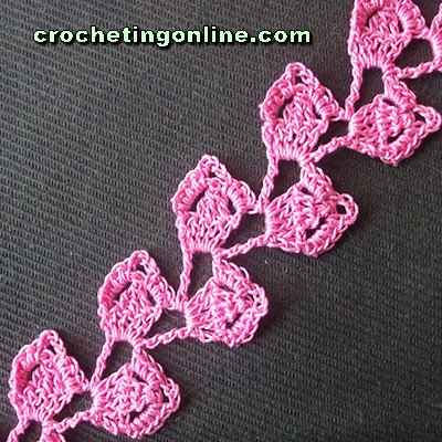 Raspberry crochet stitches